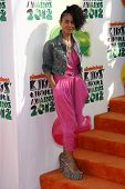 Jada Pinkett Smith at the 2012 Nickelodeon Kids' Choice Awards, Galen Center,  Los Angeles, CA 03-31