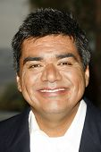 BURBANK - AUGUST 22: George Lopez at the press conference announcing George Lopez for the 2007 Bob H
