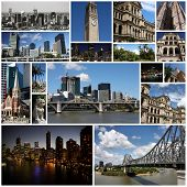pic of treasury  - Photo collage from Brisbane Australia - JPG