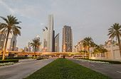 stock photo of emirates  - Downtown of Dubai  - JPG