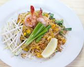 stir-fried rice noodles Pad Thai
