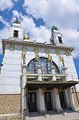 Otto Wagner Church in Vienna, Austria poster