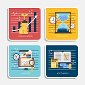 picture of payment methods  - flat design illustration concepts of online payment methods - JPG