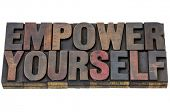 pic of empower  - empower yourself  - JPG