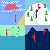 pic of parachute  - Simple pictures of parachuting - JPG