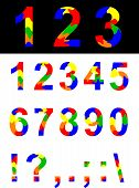 picture of symbol punctuation  - Numbers and symbols - JPG