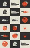 pic of bundle  - Trendy Retro Vintage Insignias Bundle - JPG