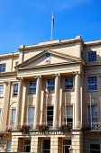 picture of municipal  - Front view of the Municipal Offices along the Promenade Cheltenham Gloucestershire England UK Western Europe - JPG