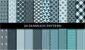 picture of pattern  - 20 Seamless Pattern - JPG