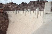 pic of hydroelectric power  - Hoover Dam in United States - JPG