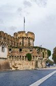 image of mausoleum  - The Mausoleum of Hadrian usually known as Castel Sant - JPG