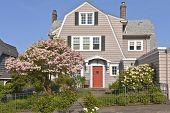 foto of portland oregon  - Residential homes on the west hills in Portland Oregon - JPG