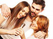 picture of karaoke  - People - JPG