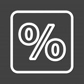 stock photo of fraction  - Percentage - JPG