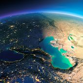 picture of tehran  - Highly detailed planet Earth - JPG
