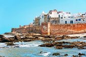 picture of atlantic ocean  - Essaouira is a city and port on the Atlantic coast in Morocco - JPG