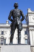 picture of smut  - A statue of former President of South Africa and Military Leader Jan Smuts situated on Parliament Square in London - JPG