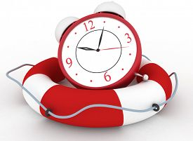image of time-saving  - Concept of time to be Safe - JPG