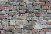 stock photo of cornerstone  - Wall pattern - JPG