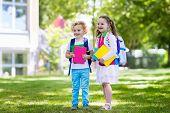 Children Going Back To School, Year Start poster