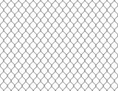 Fence Chain Seamless. Metallic Wire Link Mesh Metal Seamless Pattern Prison Barrier Secured Property poster
