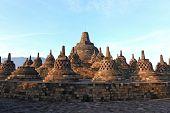 picture of arjuna  - Architecture Borobudur Temple Stupa Ruin in Yogyakarta Java Indonesia - JPG