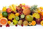 pic of eatables  - fresh various fruits - JPG