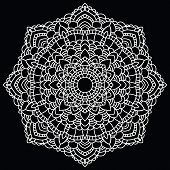 picture of doilies  - Vintage handmade doily - JPG