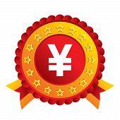 pic of yen  - Yen sign icon - JPG