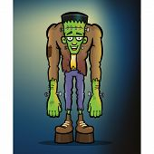image of frankenstein  - Illustration of Dr - JPG
