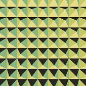 image of tetrahedron  - Abstract 3d geometric pattern - JPG