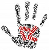 foto of white collar crime  - Stop white collar crime - JPG