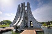 pic of memorial  - Kwame Nkrumah Memorial Park - JPG