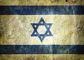 picture of masada  - flag of Israel - JPG