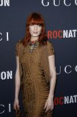 WEST HOLLYWOOD - FEB 12:  Florence Welch arriving at the Gucci and RocNation Pre-GRAMMY Brunch held