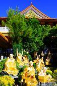 foto of hacienda  - Spiritual gardens taken at a Buddhist Temple in Hacienda Heights - JPG