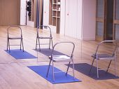 Yoga Pilates Studio Gym poster