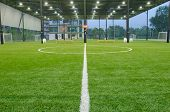 Indoor football field