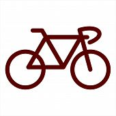 Bicycle Icon, Bicycle Icon Eps10, Bicycle Icon Vector, Bicycle Icon Eps, Bicycle Icon Jpg, Bicycle I poster