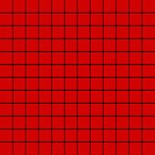 Tartan Tattersalls Plaid. Scottish Pattern In Black And Red Cage. Scottish Cage. Traditional Scottis poster