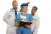 foto of health-care  - doctors and surgeon meeting - JPG
