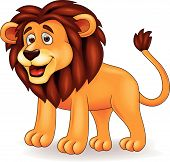 Lion cartoon character