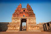 image of vijayanagara  - Vittala temple at the sunrise Hampi India - JPG