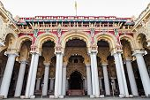 stock photo of meenakshi  - thirumalai nayak palace in madurai city india - JPG