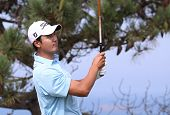 Sihwan Kim at the Pleneuf Val Andre golf challenge 2013