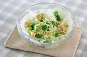 picture of noodles  - Healthy Asian salad - JPG