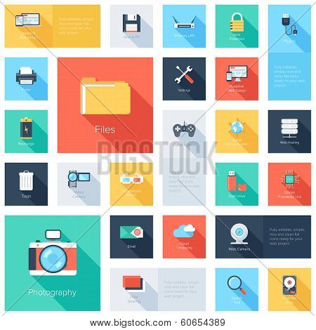 Technology Icons poster