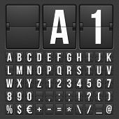 picture of numbers counting  - Vector Countdown Timer and Date - JPG