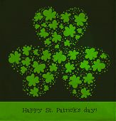 Постер, плакат: St Patrick Day Card