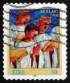 Postage Stamp Ireland 1998 Choir Singers, Christmas
